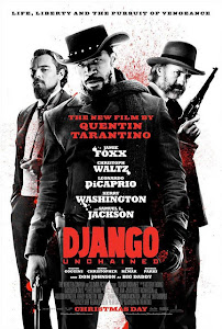 Poster Of Django Unchained (2012) In Hindi English Dual Audio 300MB Compressed Small Size Pc Movie Free Download Only At worldfree4u.com