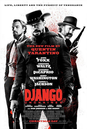 Poster Of Django Unchained In Dual Audio Hindi English 300MB Compressed Small Size Pc Movie Free Download Only At worldfree4u.com