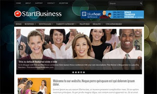 Start Business Blogger Template