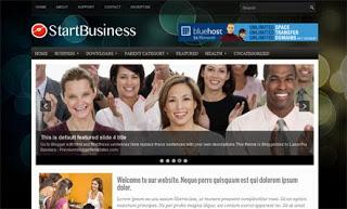 Start Business Blogger Template