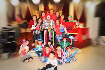 Big Baby The Clown at Family`s Gathering Party