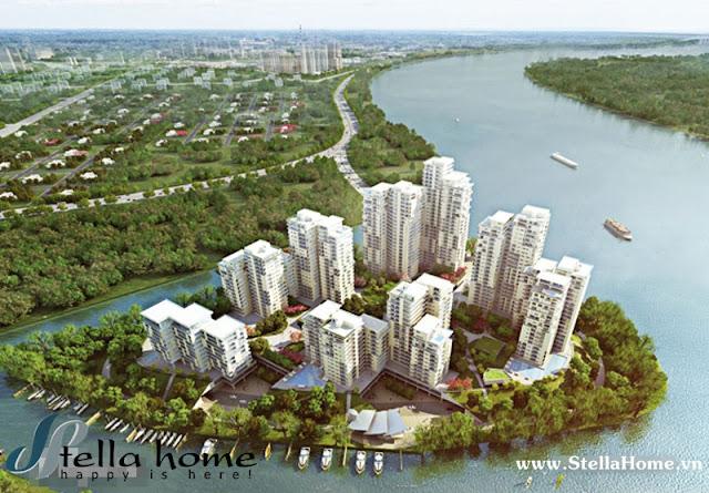 Sức hút bất động sản ven sông