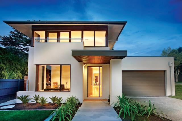 Proiect casa moderna cu etaj Constanta - Servicii proiectare si arhitectura