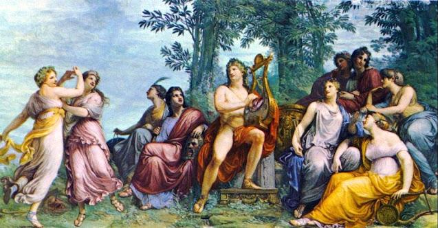 Andrea Appiani: Il parnaso (1811) - Galleria d'Arte Moderna, Milán