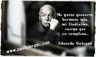 """""""Me gusta gustarte, hermosa mía, mi lindísima, cuerpo que yo completo..."""" Eduardo Galeano Hombre que bebe solo"""