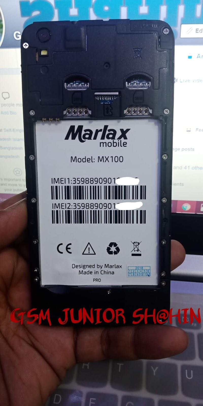 MARLAX MX100 MT6580 FLASH FILE HANG ON LOGO FIX FIRMWARE