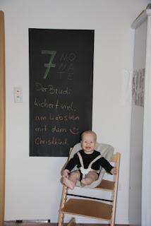 Tafelbild 7 Monate Brudi