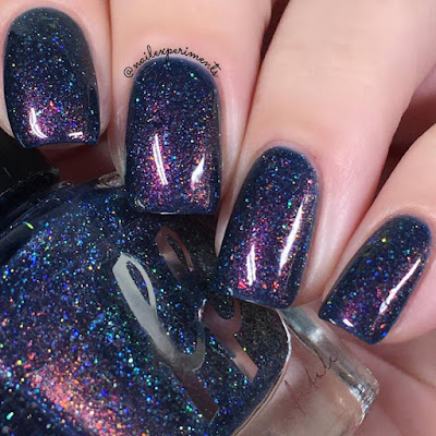 Femme Fatale Nameless One swatch from the Fire Lily collection