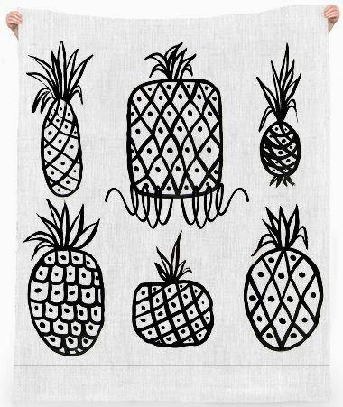 Patti Friday: Pineapple Art, Fashion and Home Decor