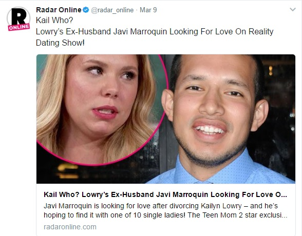 Is kail on teen mom dating a girl