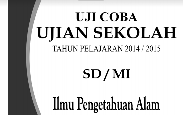 Contoh Soal Tryout