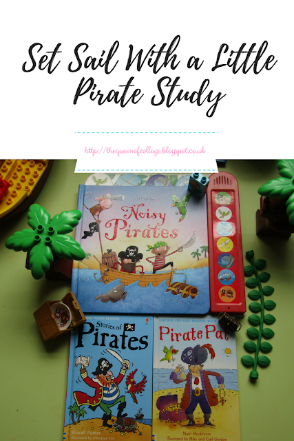 Set Sail With a Little Pirate Study