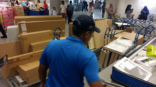 Runner barang IKEA, membeli produk IKEA, Perkhidmatan runner