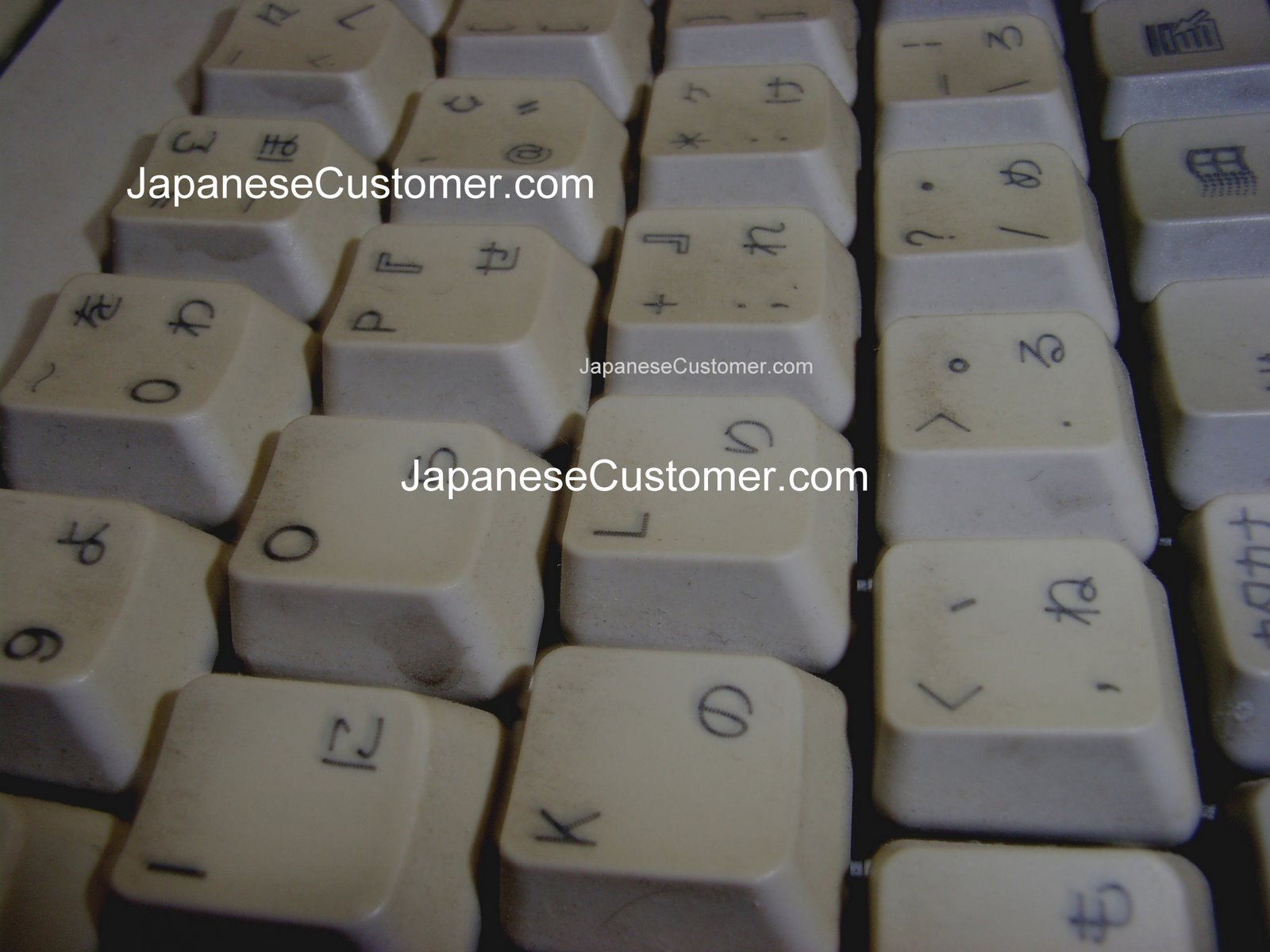 Japanese key board Copyright  2010
