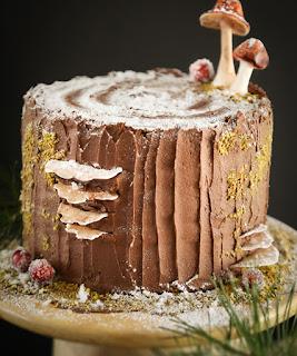 Stump de Noel Cake