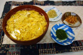 写真 低糖質とき玉アミノ酸スープ サイリウム おおばこ プランタゴ・オバタで、片栗粉の代わりにとろみをつけるだし汁 ダイエット食としても 便秘にも