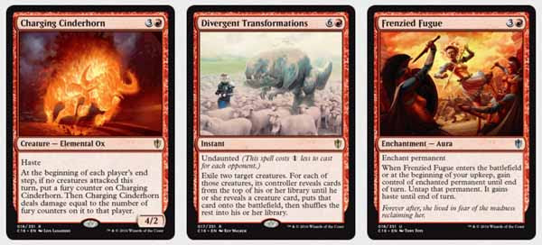 Magic the Gathering Adventures: Commander 2016: Red