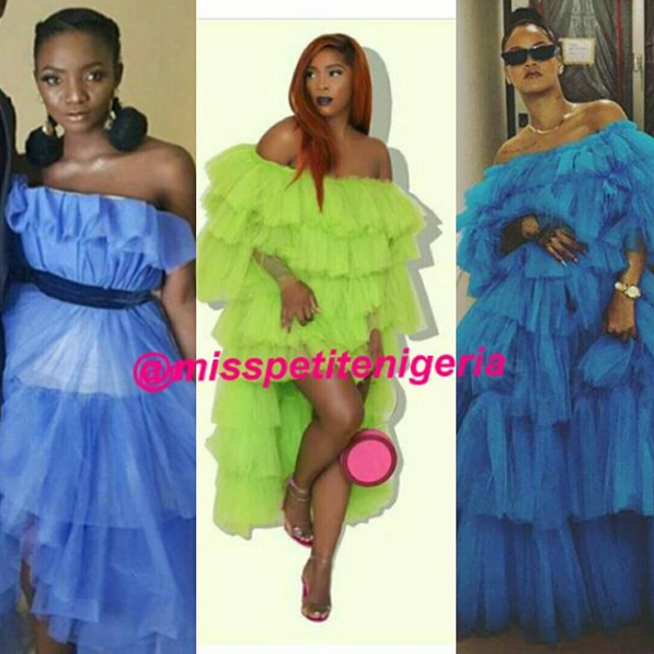 Battle of the frills- Rihanna,Tiwa Savage, Simi #baydorzblogng
