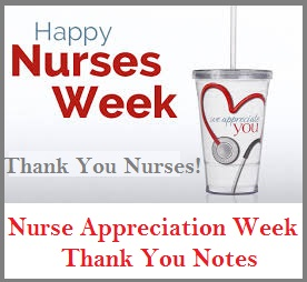thank you notes to nurses Appreciation Messages and Letters! : Nurses