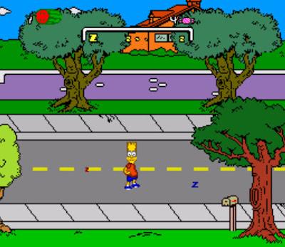 【SFC】辛普森家庭(The Simpsons)全系列合集,美式搞笑風格動作遊戲!