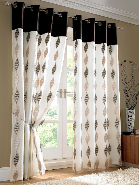 attractive sliding bedroom curtain ideas with unique design
