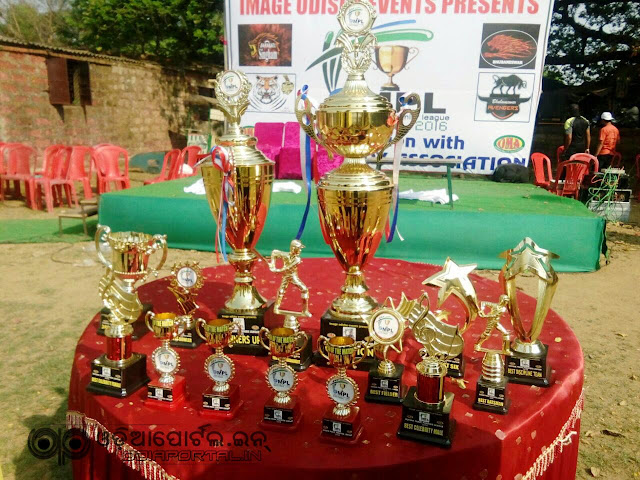 """Odisha Music Premier League"" Cricket Tournament was held at Nimpur Cricket Ground  (Jagatpur) , The tournament was organized by Image Odisha Event in association with ""Odisha Melody Association"". Khandagiri Warriors , Barabati Singham.,  Katak Knight Riders, Bhubaneswar Avengers."