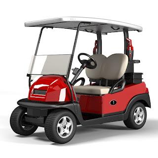 3dsMax高精度Golf Car3D模型下載