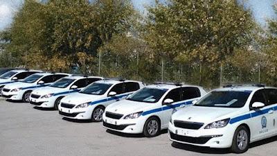 Με 24 νέα οχήματα ενισχύεται η Αστυνομία στην Ήπειρο