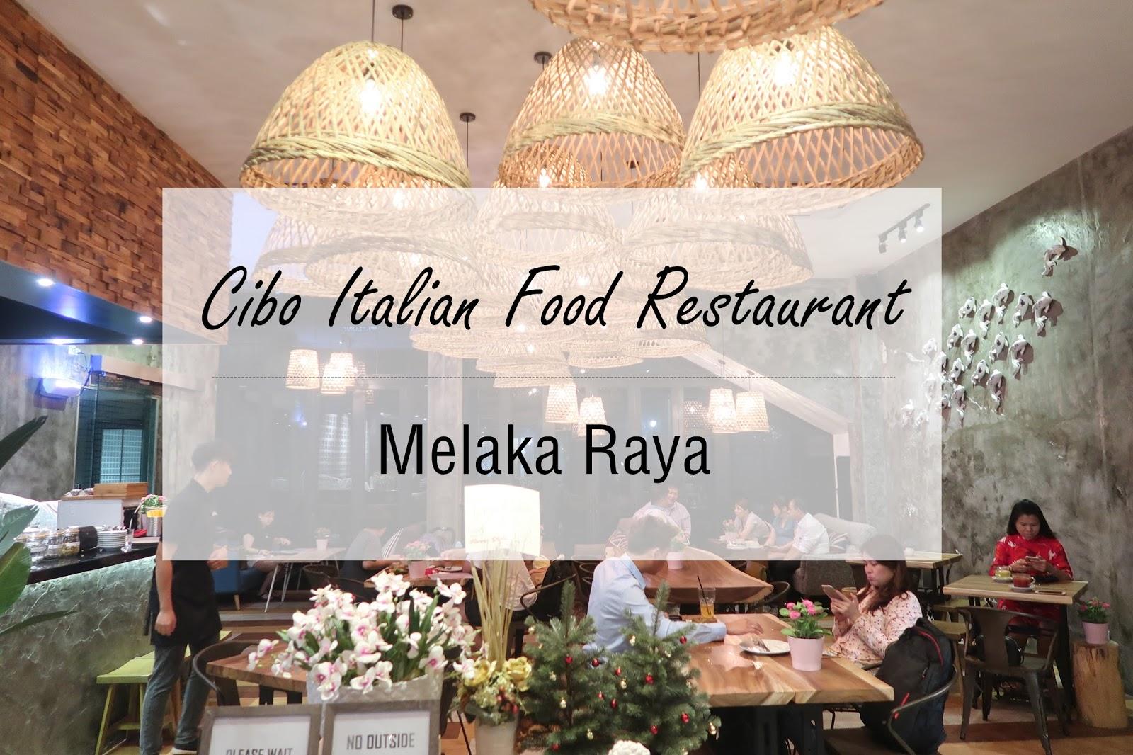 Melaka Cibo Italian Food and Coffee Eat Play Sleep Malaysia