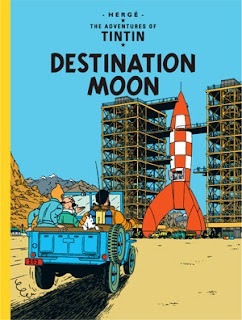Tintin Comics Collection Free PDF, Destination Moon Tintin Comics Free PDF
