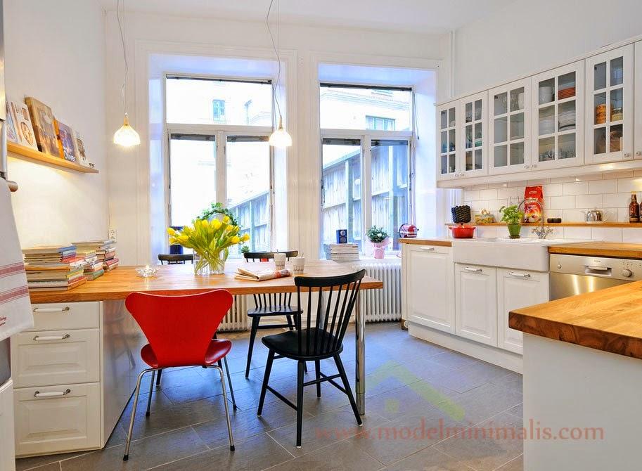 47 Desain Dapur Dan Ruang Makan Minimalis Sederhana Yang