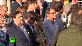 Puigdemont, other Catalonian officials