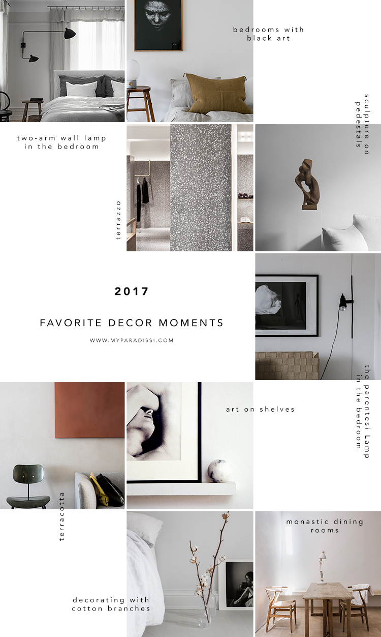 Favorite decor moments of 2017 in My Paradissi