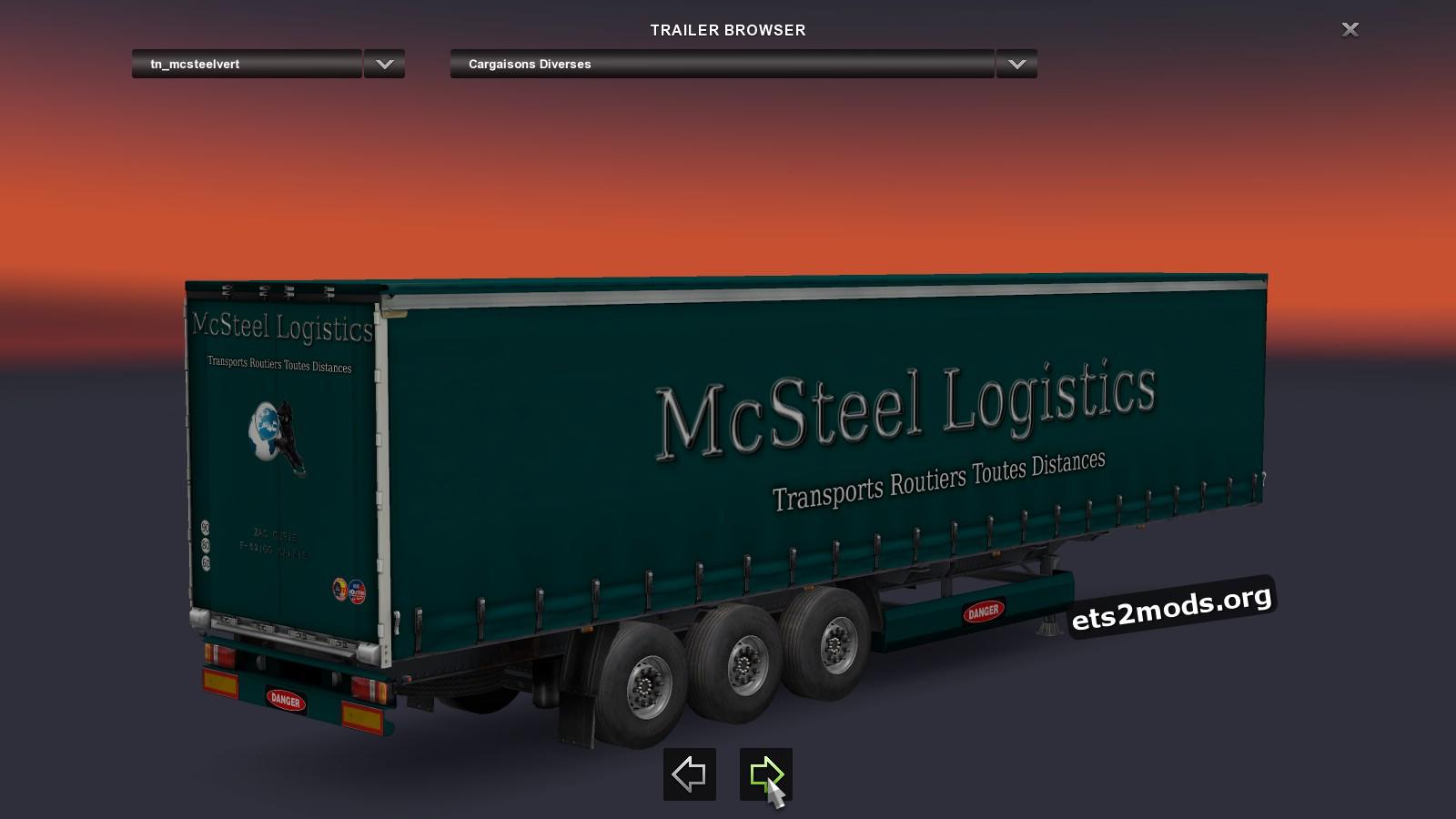 Trailer - McSteel Logistics France Pack