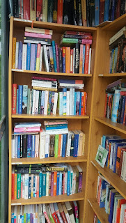 Im Bücherhäusle ist es gemütlich