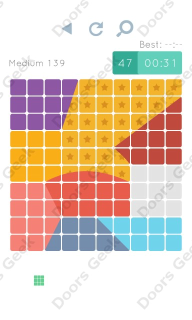 Cheats, Walkthrough for Blocks and Shapes Medium Level 139