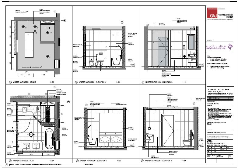 Revit Kitchen And Bath Elevations