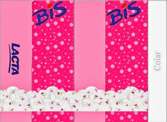 Etiquetas para Imprimir Gratis de Corazones Rosas.