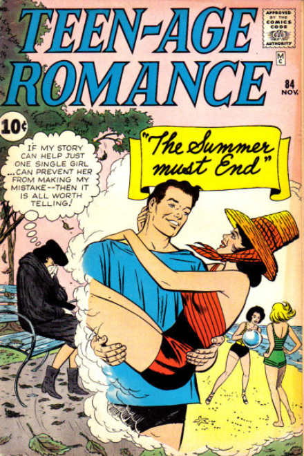 Teen-Age Romance Marvel Comics