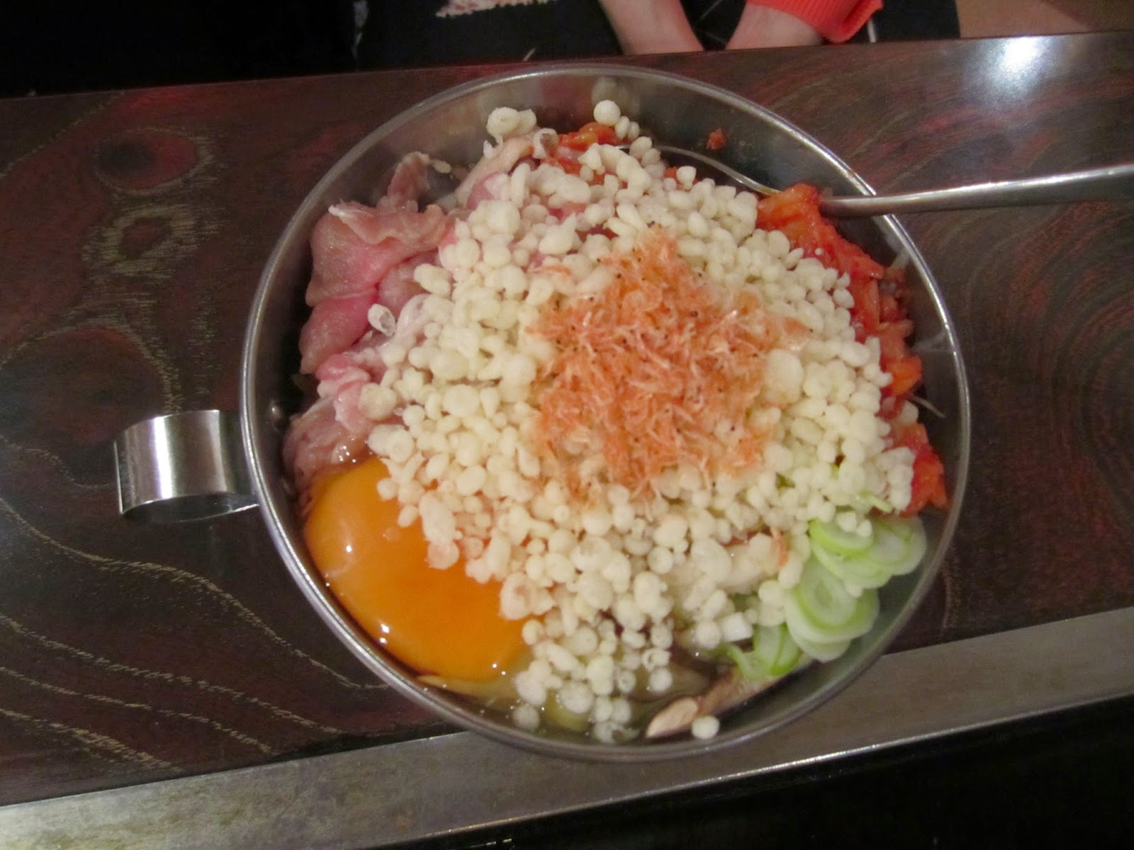 Pork Kimchi Ten Okonomiyaki Asakusa Towada 豚キムチ天 お好み焼き 浅草 十和田市