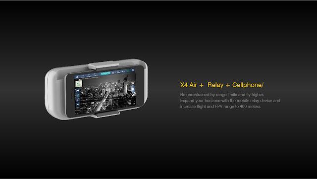 Hubsan H501A X4 Air Mobile Relay