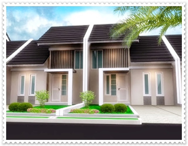 gambar desain rumah minimalis 2 lantai type 45