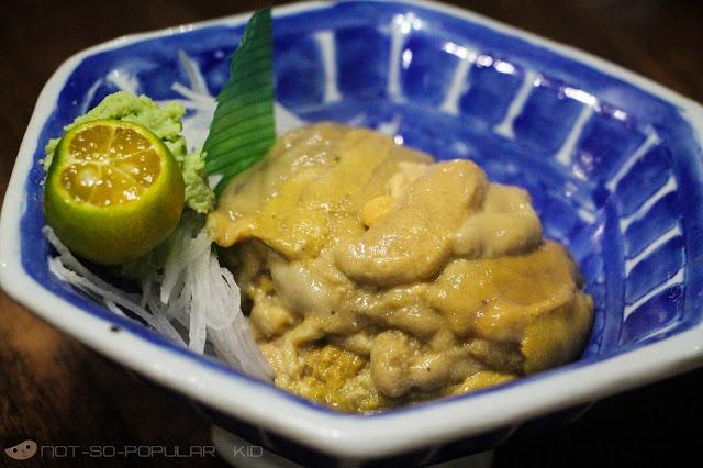 The Unique Taste of Uni Sashimi in Nihonbashi Tei