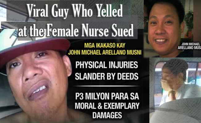 Viral Guy Who Yelled at the Female Nurse Sued