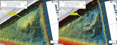 Central Arizona Project, sedimentation, Lowrance, ciBioBase, BioBase, sonar, mapping, acoustics