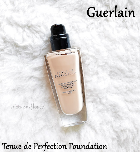 Guerlain Tenue de Perfection Long-lasting Timeproof Foundation Review Swatch