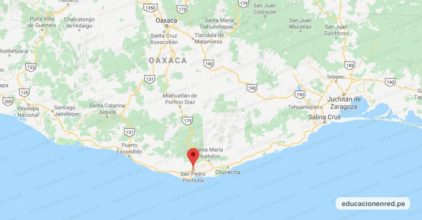 Sismo en México de Magnitud 4.1 (Hoy Domingo 28 Octubre 2018) Temblor Epicentro - San Pedro Pochutla - Oaxaca - SSN - www.ssn.unam.mx