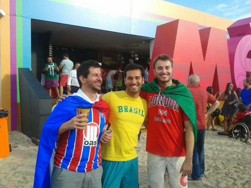 Fan Fest Rio de Janeiro - Copacabana - Copa do Mundo Brasil 2014 - Brasil X Holanda