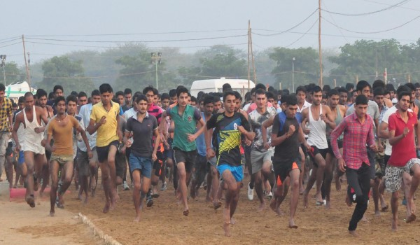 Krishnagar  Army Rally, Indian Army Rally, Open Bharti Rally