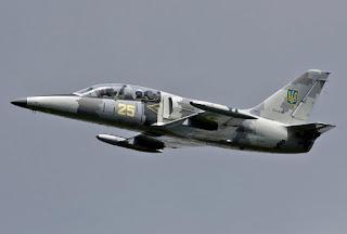 Pesawat Latih L-39 AU Ukraina